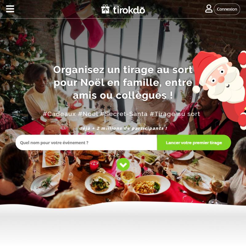 Lettre Electronique Au Pere Noel.Tirage Au Sort Pour Cadeaux De Noel Secret Santa Tirokdo